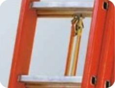 Drabina z włókna szklanego, 2-3 elementowa, wysuwana